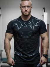 Hoistwear Alpha V2 Black Fitted T-shirt Size S & L