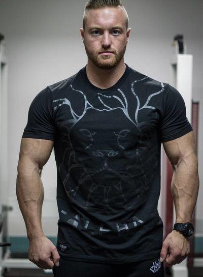 Hoistwear Alpha V2 Black Fitted T-shirt  Size S