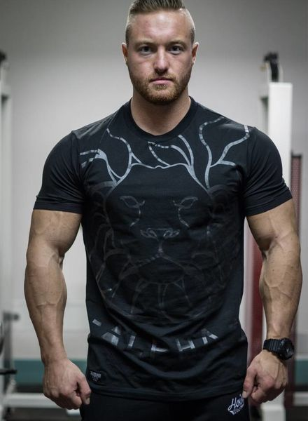Hoistwear Alpha V2 Black Fitted T-shirt