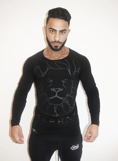 Longsleeve Alpha Black