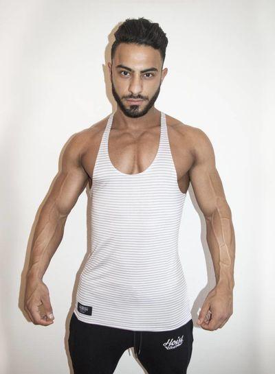 Hoist Striped White