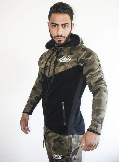 Hoistwear Hoist Premio Camo Hoodie size S