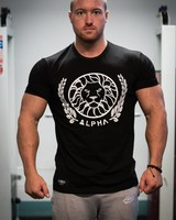 Alpha Fitted T-shirt Black