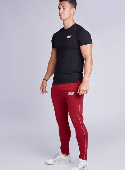 Hoistwear Fitted Bottoms Maroon