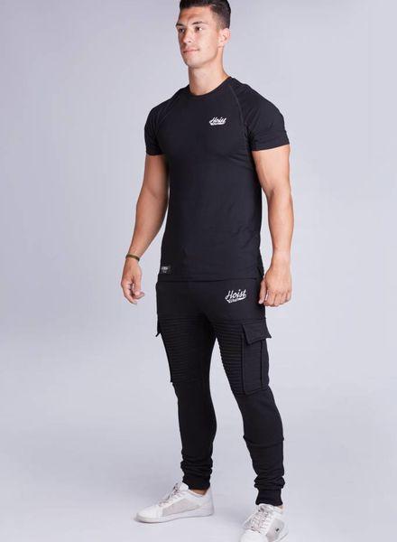 Premio Ribbed Jogger Black size XL
