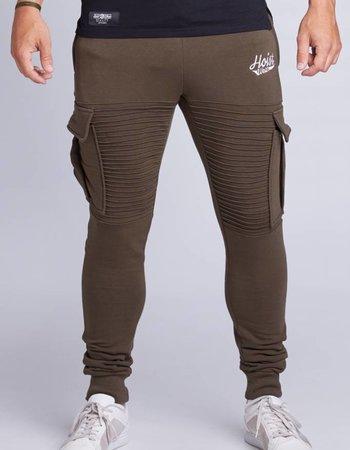 Hoistwear Premio Ribbed Jogger Army size S & XL