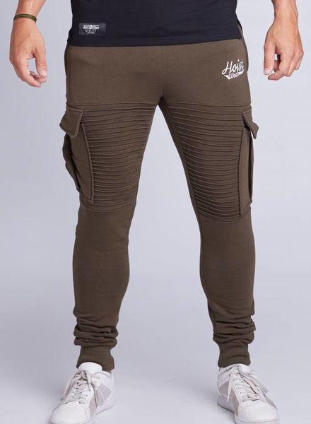 Hoistwear Premio Ribbed Jogger Army size S