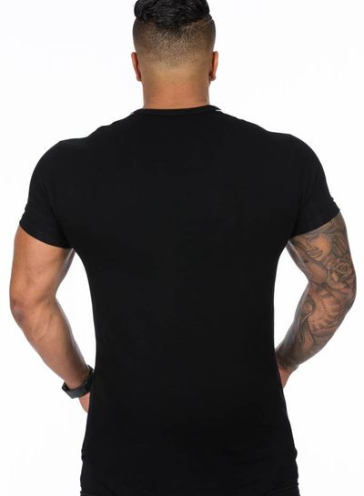 Hoistwear Hoist Curved Black/White Tshirt