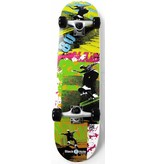 Move Skateboard Black Hole Eighties: 79 cm/ABEC7