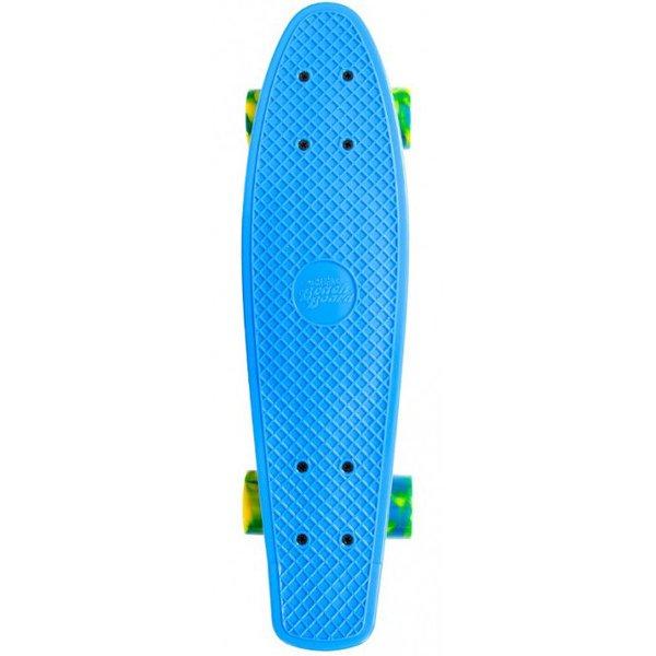 Streetsurfing Skateboard Streetsurfing single blue 57 cm/ABEC7