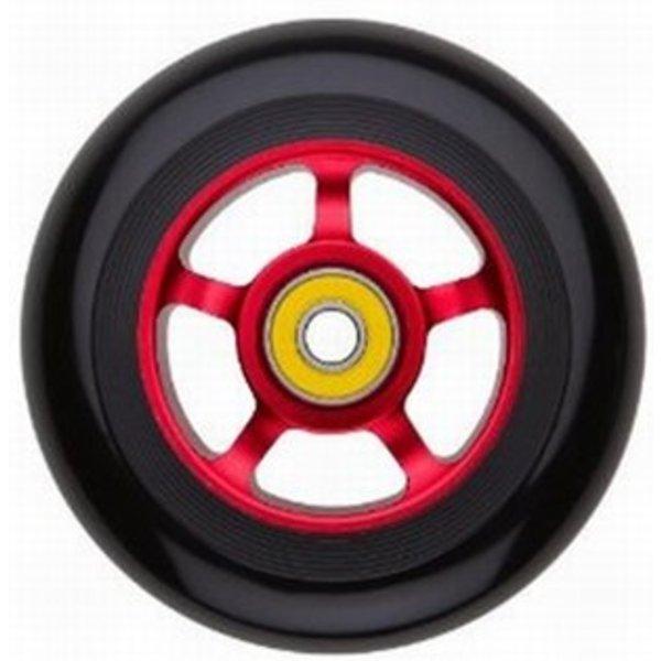 Razor Wheel Razor pro 100 mm voor oa Beast step rood