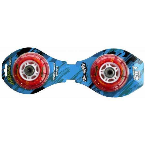 Streetsurfing Wheelset StreetSurfing Clear Red