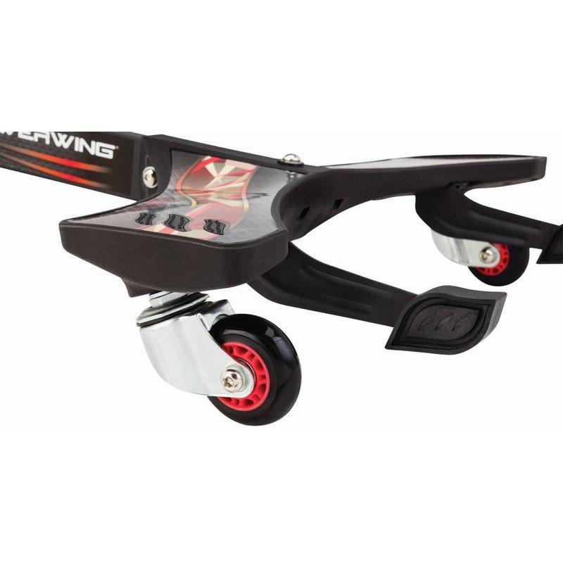 Razor Step Razor kids: Powerwing zwart/rood