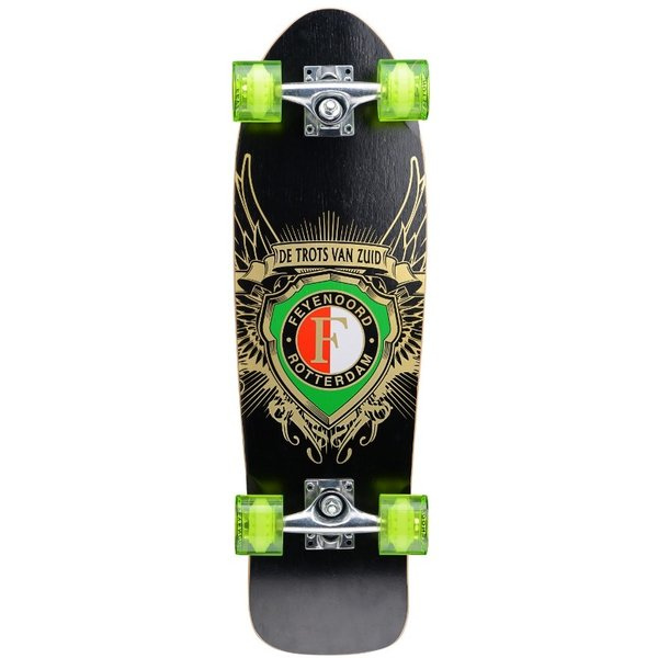 Feyenoord Rotterdam Skateboard Osprey groen feyenoord 71 cm/ABEC9