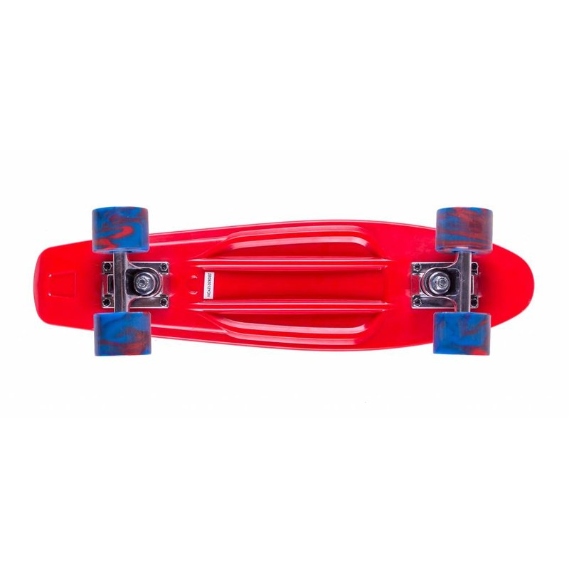 Streetsurfing Skateboard Streetsurfing single: red 57 cm/ABEC7