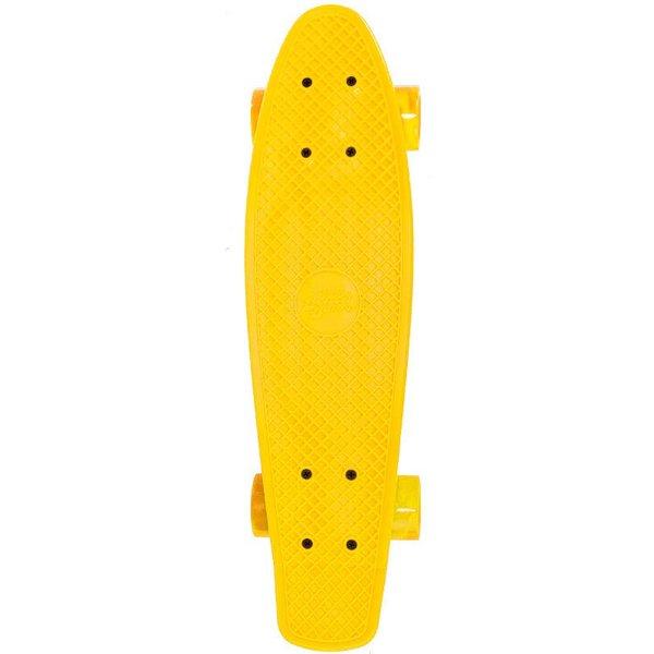 Streetsurfing Skateboard Streetsurfing single: yellow 57 cm/ABEC7