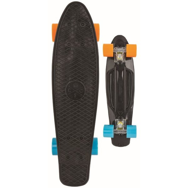 Coolshoe Skateboard Cool Shoe single: Retro Black 57 cm/ABEC7