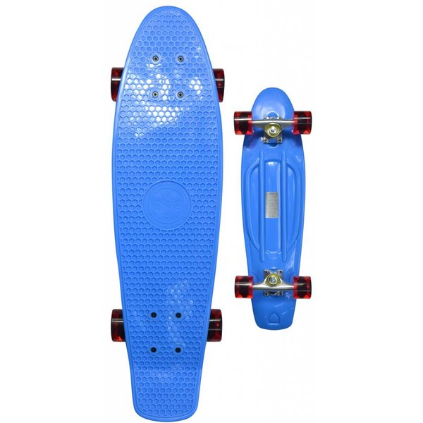 Coolshoe Skateboard Cool Shoe single: Retro Blue 69 cm/ABEC7