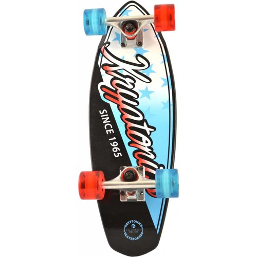 Krypto Skateboard Krypto cruiser: Stars Blue 58 cm/ABEC7