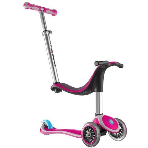 Globber Step Globber kids: MyFree Seat 5 in 1 roze