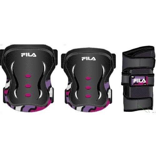 Fila Beschermset Fila junior zwart/roze