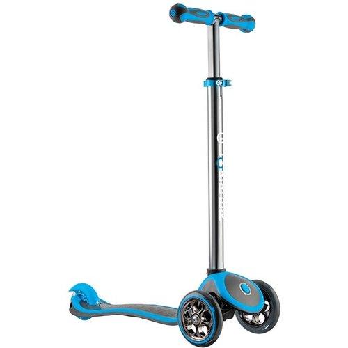 Step Globber Kids: MyFree Up Titanium blauw