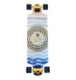 Krypto Longboard Krypto twin: Heat Waves 81 cm/ABEC7