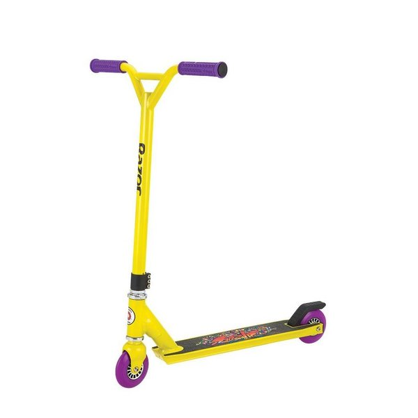 Razor Step Razor stunt entry Beast Neon Yellow