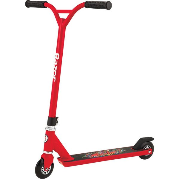 Razor Step Razor stunt entry Beast Red