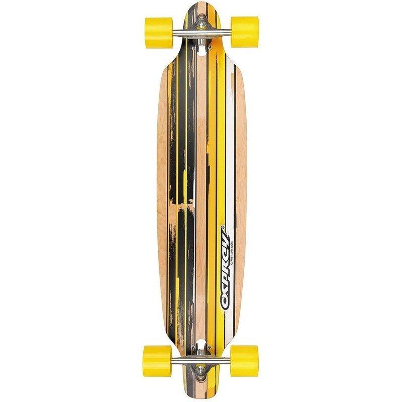 Longboard Osprey twin Flint Yellow 99 cm/ABEC7