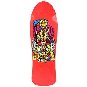 "Dogtown Reissue Eric Dressen Skateboard Deck 10"" x 30.75"" (Red)"