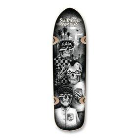 "Suicidal Skates Tres Vatos Pool Skateboard Deck 8.75"" x 32.5"""
