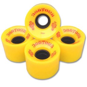 Dogtown Wheels Mini Cruiser 59mm 84a Yellow (set of 4)