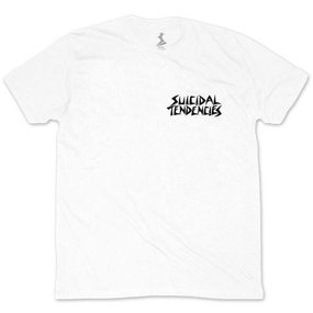 Suicidal Ric Clayton Possessed To Skate T-Shirt (white)