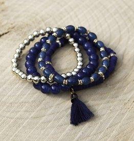 Armbandenset Blauw