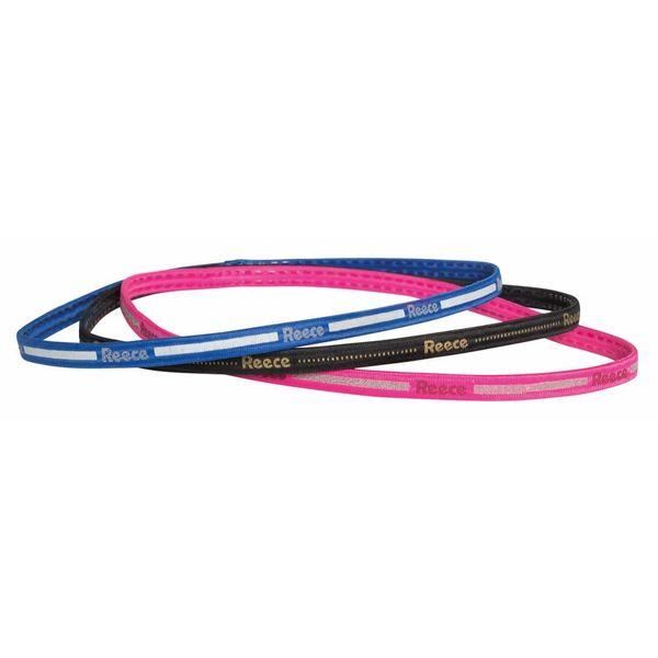 Haarband Non-Slip (set van 3 stuks) Blauw/Zwart/Roze