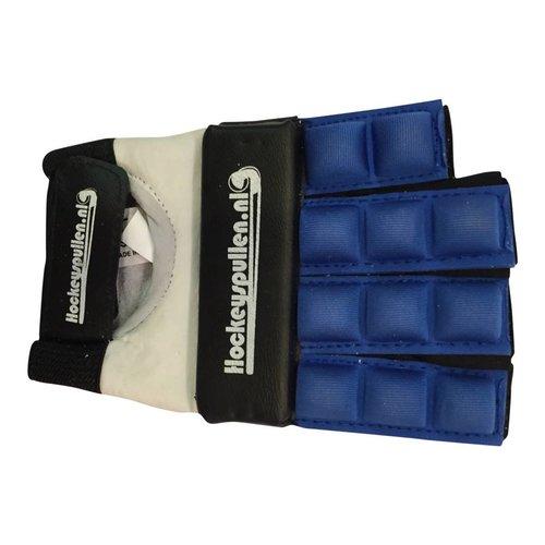 Hockeyspullen.nl Handschoen Half Finger Special Glove Blauw