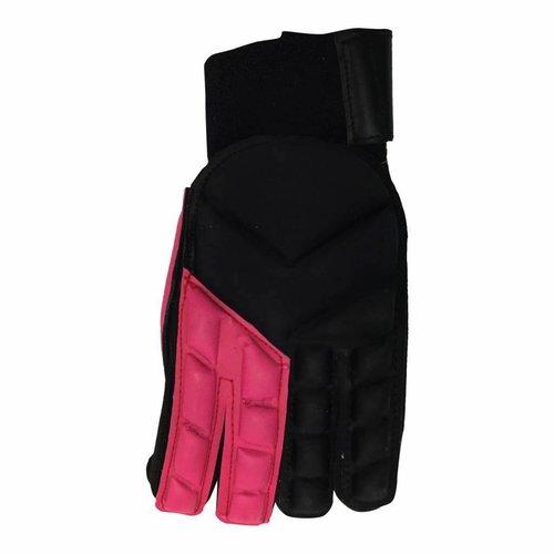 Hockeyspullen.nl Zaal handschoen Full Finger Duo Zwart/Roze