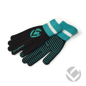 Brabo Wintergloves BLACK/BLAUW JUNIOR/TEEN/SENIOR