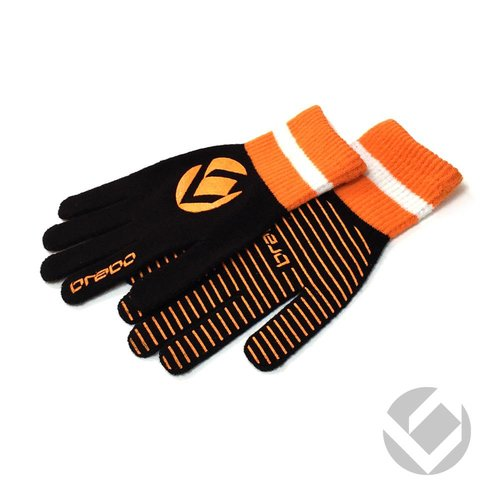 Brabo Wintergloves Bk/Or JUNIOR/TEEN/SENIOR