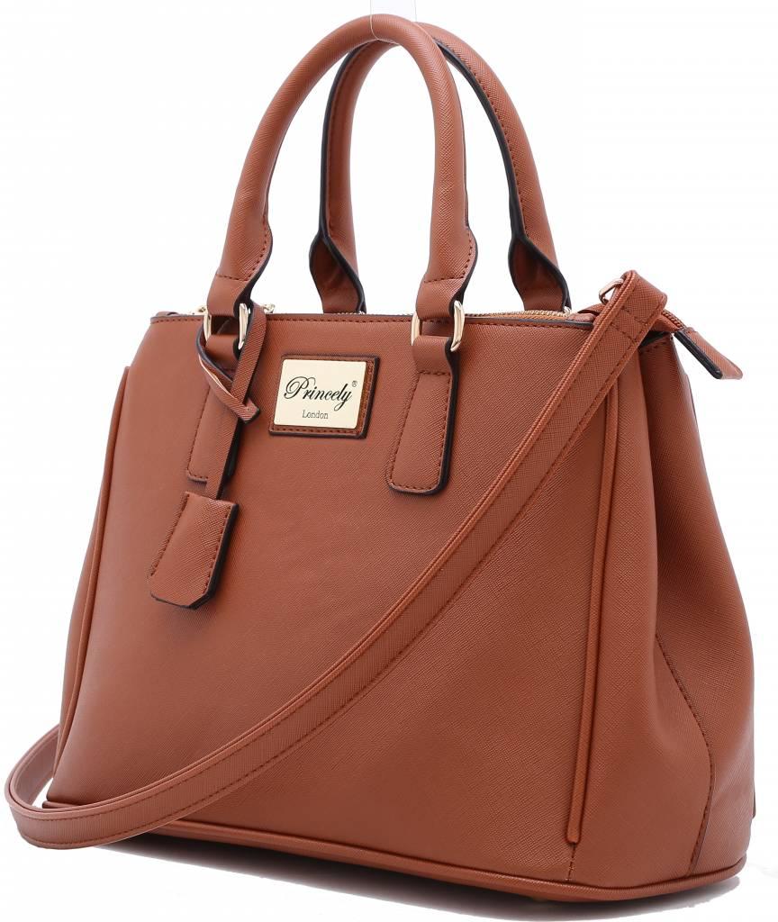 Handbag Victoria Teakbrown