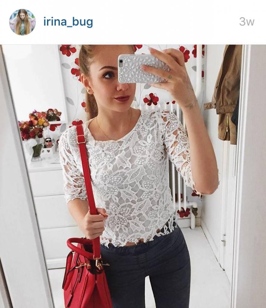 Handbag Victoria Red
