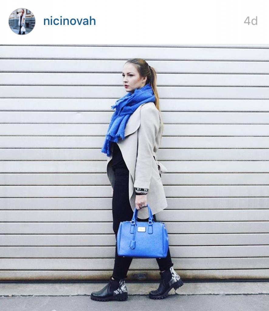 Handbag Victoria Royalblue