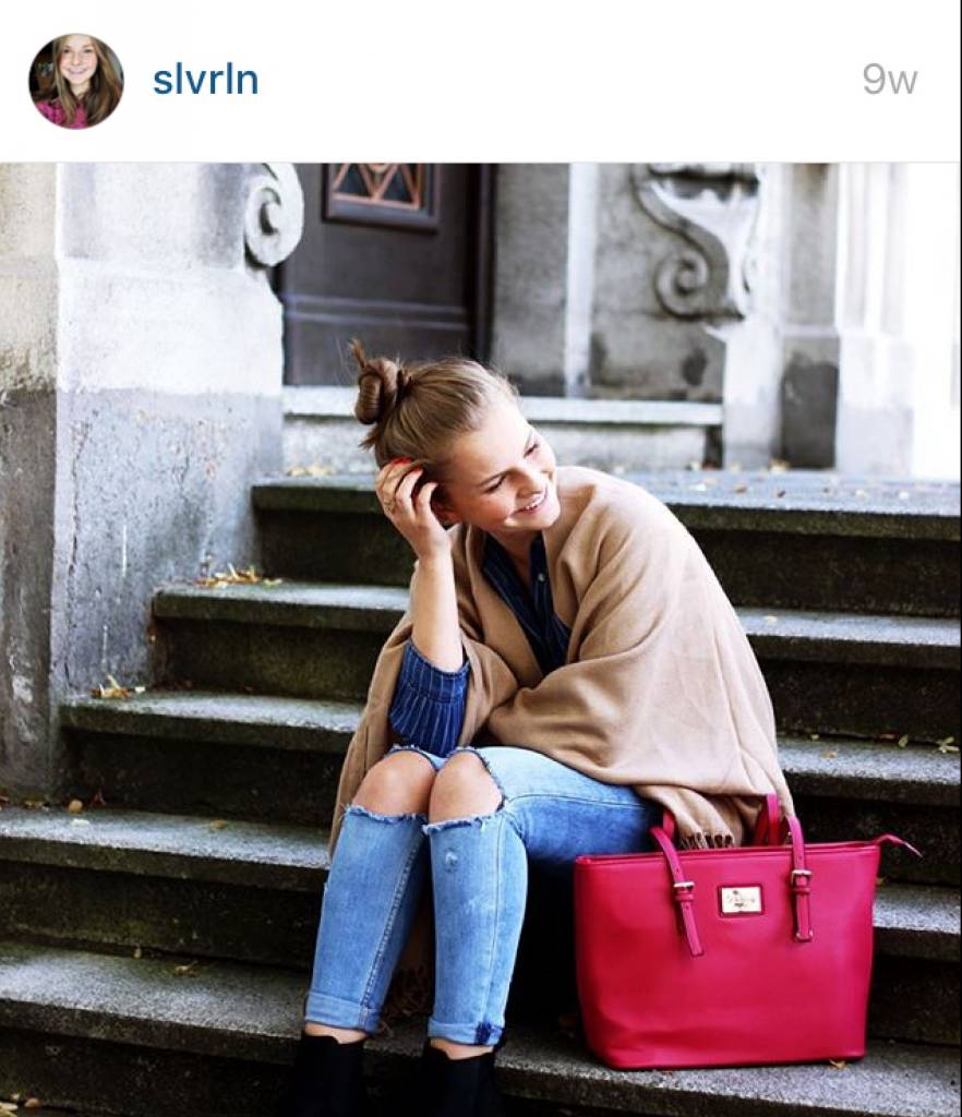 Shopper Beverly Himbeere