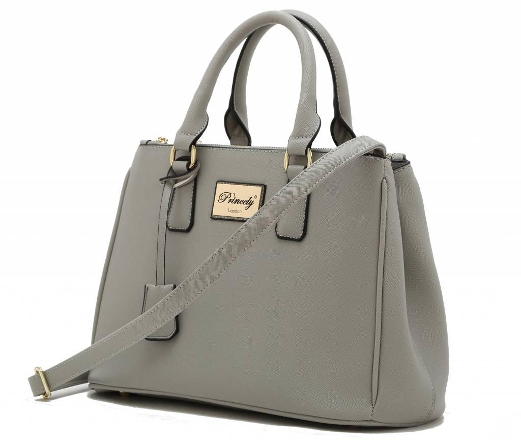 Handtasche Victoria Kreidegrau