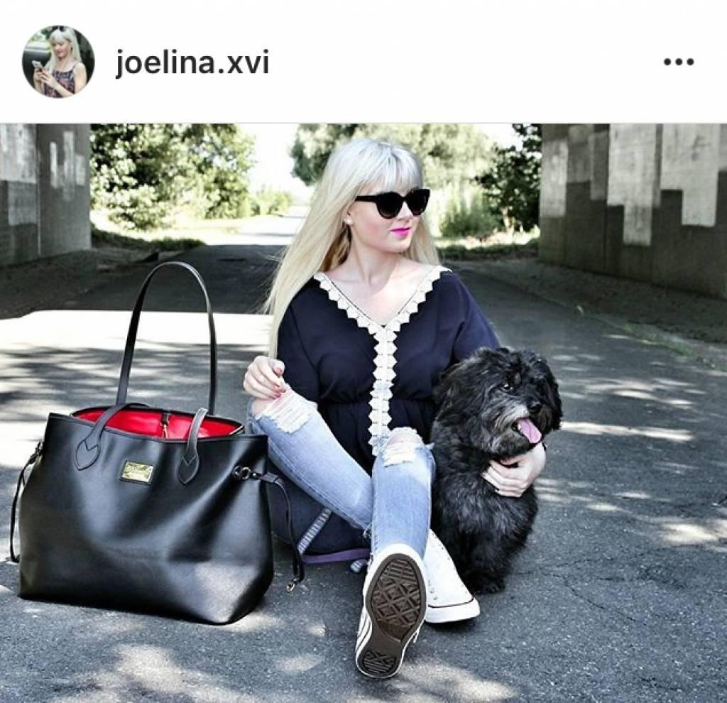 XXL Shopper Georgia Schwarz