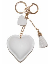 "Keychain ""Love"" - White"