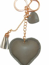 "Keychain ""Love"" - Grey"