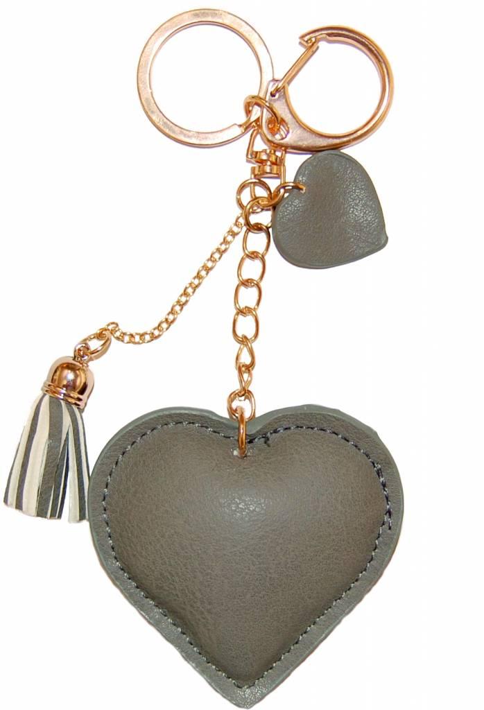 "Keychain ""Love"" - Grey"