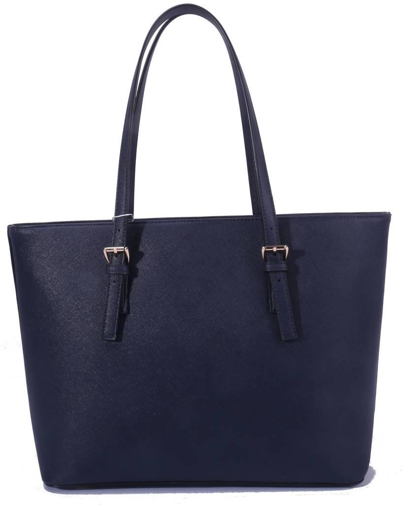 Shopper Beverly Navy Blue